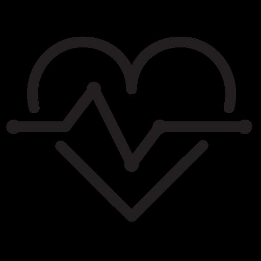 disease, graph, heart, medical, medicine icon