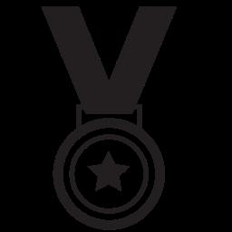 award, gold, medal, star, winner icon