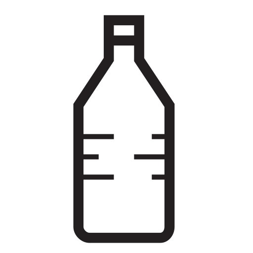 bottle, fitness, plastic, water icon