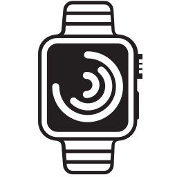 apple, iwatch, time, whatch icon