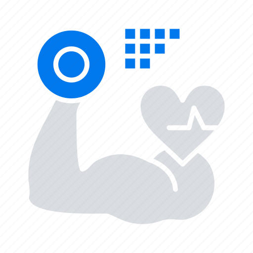 beat, growth, heart, muscle icon