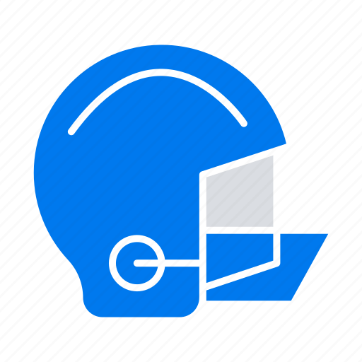 American, equipment, football, helmet, protective icon - Download on Iconfinder