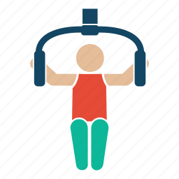 bodybuilder, bodybuilding, excerise, fitness, gym, tricep, weightlifter icon
