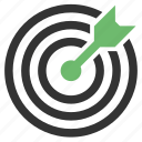 aim, bullseye icon