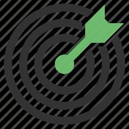 aim, bullseye icon