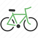 bycicle, ride icon