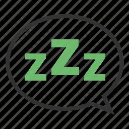 relax, sleeptime icon