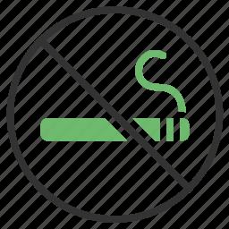 smoking, stop icon