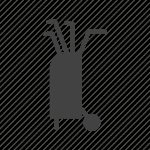ball, club, golf, metal, sport, stick, white icon