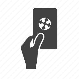 card, cards, football, red, soccer, sports, yellow icon