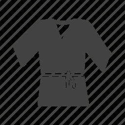 belt, fight, judo, karate, sport, taekwondo, white icon