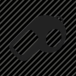 game, sport, whistle icon