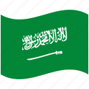 country, flag, national, saudi arabia, world
