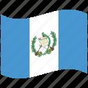 country, flag, guatemala, national, world