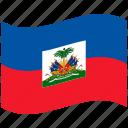 country, flag, haiti, national, world