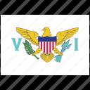 flag, country, virgin, islands, us, national, world