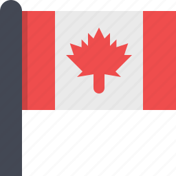 canada, country, flag, maple icon