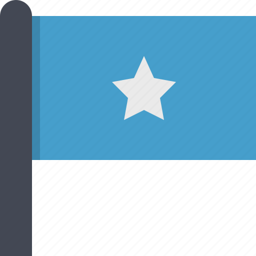 africa, country, flag, somalia icon