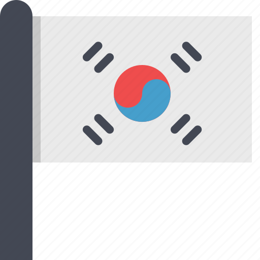 asia, corea, country, flag, south corea icon