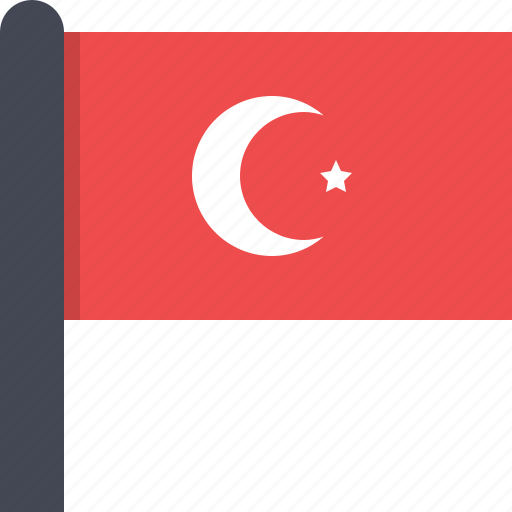 africa, country, flag, tunisia icon