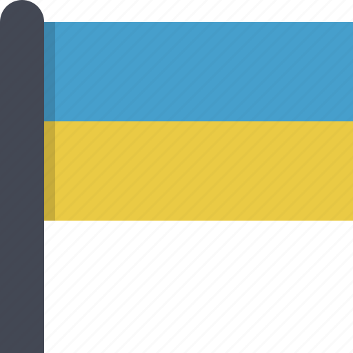 country, europe, flag, ukraine icon