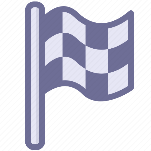 end, flag, racing, sport, win icon