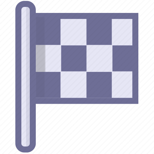 end, flag, race, sport, win icon
