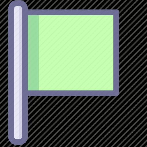 flag, location, lose icon