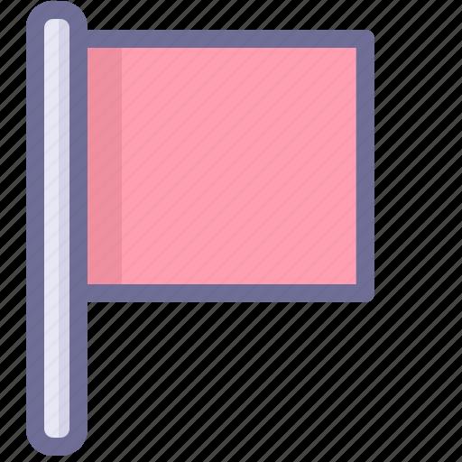 flag, location, win icon