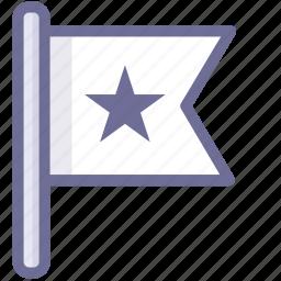 flag, mark, white flag icon