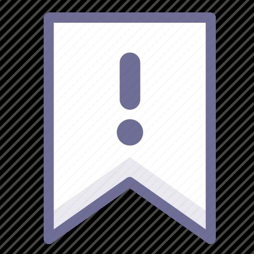 flag, information, warning icon