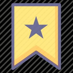 achievement, collection, favorites, flag icon