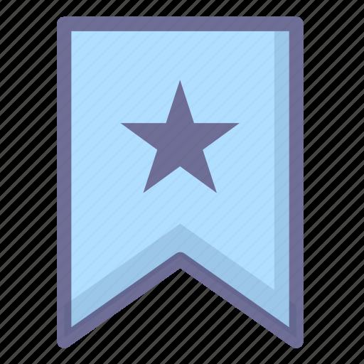 achievement, collection, excellent, favorites, flag, guarantee icon