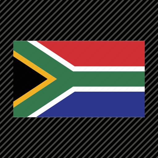 africa, flag, sauth icon