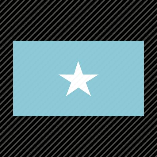 flag, somalia icon