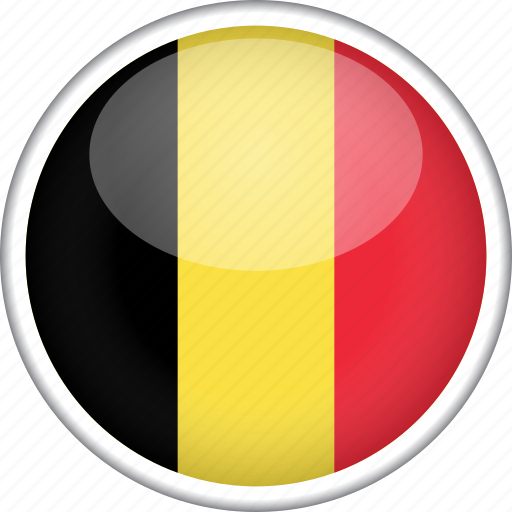 belgium, circle, country, flag, national icon