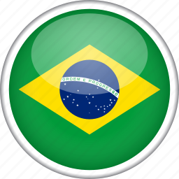 brazil, circle, country, flag, national icon
