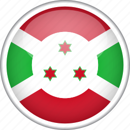 burundi, circle, country, flag, national icon