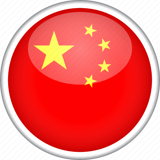 china, chinese, circle, country, flag, national icon