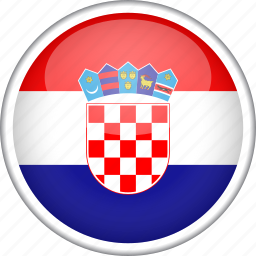 circle, country, croatia, flag, national icon