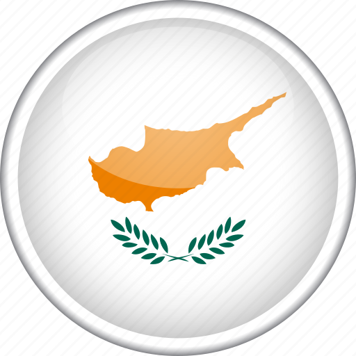 circle, country, cyprus, flag, national icon