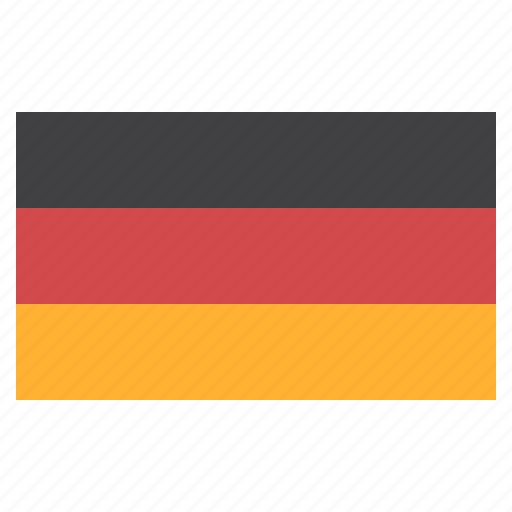 banner, country, flag, flags, germany, national icon