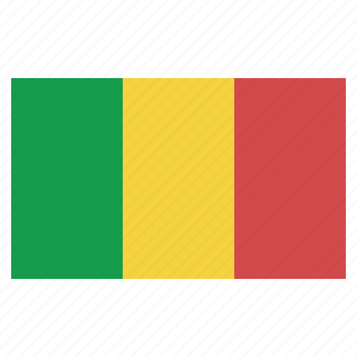 banner, country, flag, flags, mali, national icon