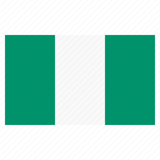banner, country, flag, flags, national, nigeria icon
