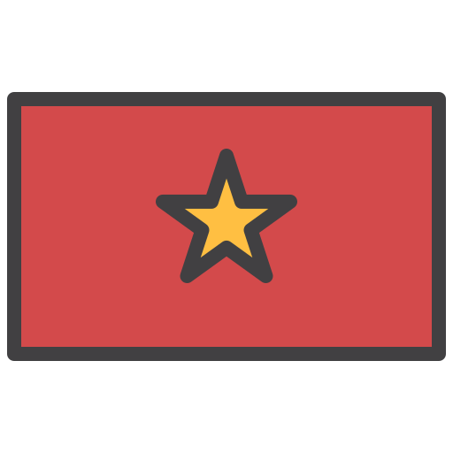 Country, flag, flags, national, vietnam icon