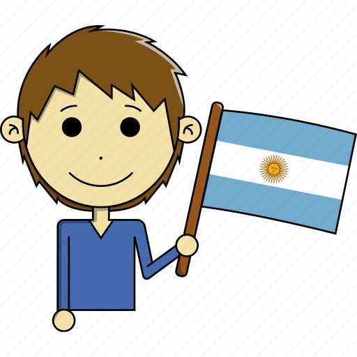 argentina, avatar, country, fantastic, flags, man, world icon