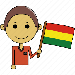 avatar, bolivia, country, fantastic, flags, man, world icon