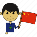avatar, awesome, china, country, flags, man, world icon