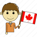 avatar, awesome, canada, country, flags, man, world icon