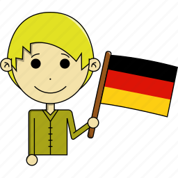avatar, country, fantastic, flags, germany, man, world icon